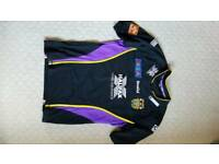 Halifax Rugby League Black Away Shirt .. Large