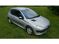 Peugeot 206 1.4 glx ... new mot ... ideal 1st car