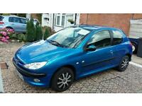 Peugeot 206 low milage full history