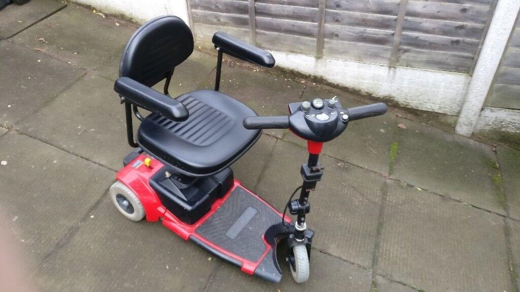 Compact GO-GO 3 Wheel Mobility Scooter (Used) | in Erdington, West Midlands  | Gumtree