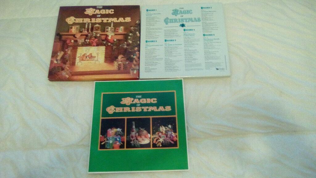 "READERS DIGEST-""THE MAGIC OF CHRISTMAS""-6 X LP'S BOX SET-EX++"