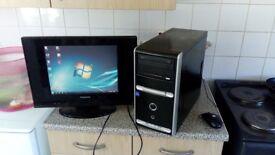 Asus pc desktop 1tb hard drive good working condition