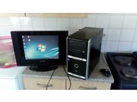 Asus pc desktop 1tb hard drive good working condition