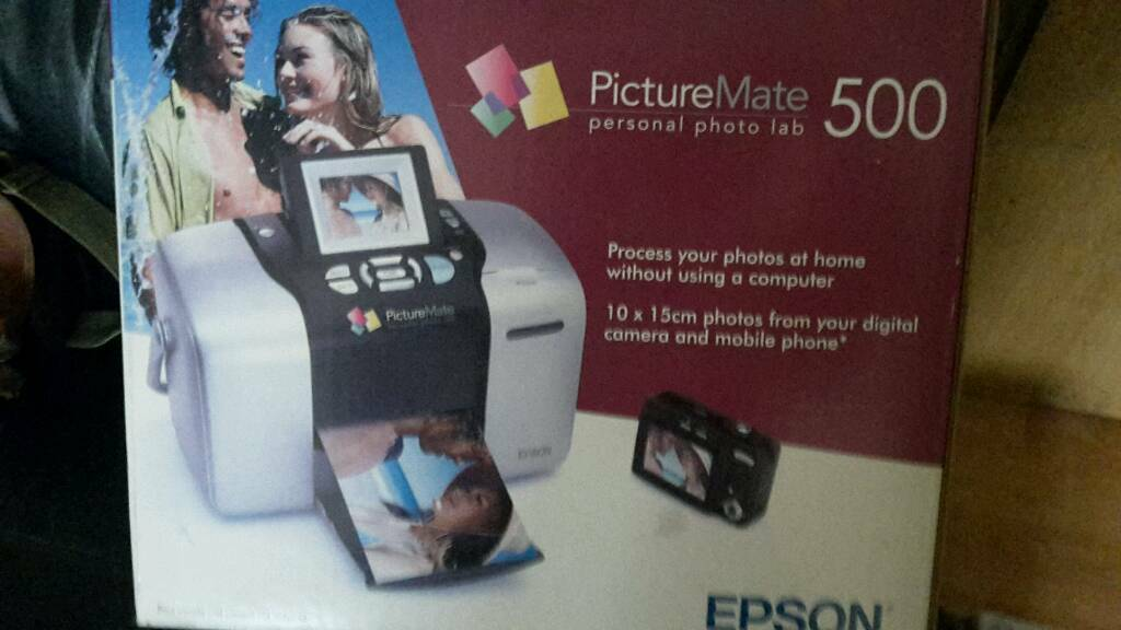 Photo printer.