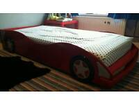 Single car bed frame