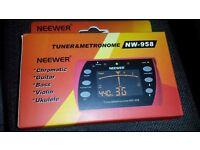 3 in 1 LCD Display Metronome Tuner, Chromatic Tuner, Tone Generator