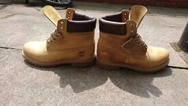Timberland AF 6 Inch Anniversary Waterproof Leather Mens UK 9.5