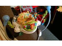 Jumperoo and baby swing and Tommee Tippee Steriliser