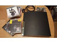 PS3 playstation 3 with games full working order just never use it.