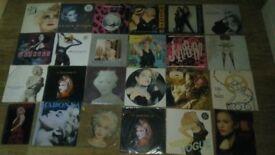 24 x madonna vinyl collection LP's / 12 / picture disc / bedtime stories