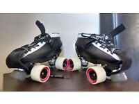 Bont Hybrid Quad Skates (Size 5)