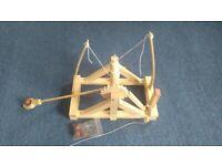 Toy Historical Desktop Catapult