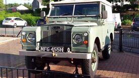 land rover series 2a 1969 2.2 petrol