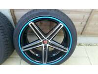 Set of four 18 inch Alloy Wheels