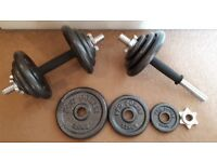 2x10kg dumbells - Pay what you want!