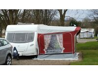 Lunar Stellar 400/2 Caravan 2008 with Full Awning and Motor Mover