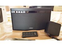 BOSE SOUNDLINK AIR DIGITAL MUSIC SYSTEM SPEAKERS , EXCELLENT CONDITION , LIKE NEW