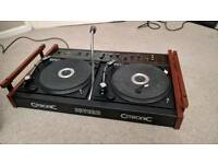 Citronic severn v2 dual record decks. Inc carry case. Good condition.