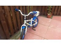Boy's Bike For Sale . Suitable for ages 4+