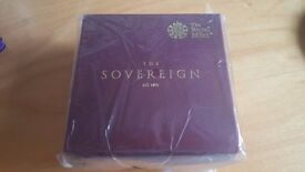 2017 GOLD PROOF HALF SOVEREIGN ~ SEALED ~ ROYAL MINT HAS SOLD OUT ~ FUTURE RARE DATE