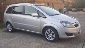 Vauxhall Zafira 2010,petrol 1.6,manual,only 62k, MOT,quick sale