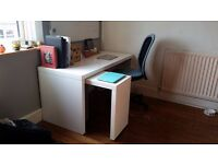 Ikea Desk & Chair For Sale Good Condition