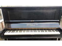 Allardyce and co London upright piano