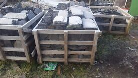 seven pallets of ballachullish slates for sale