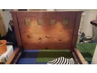 Mahogany/ Slate, King Size Bed Frame - Top of Range