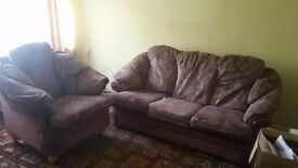 Free settee and chair