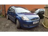 FORD FIESTA 1.4 TDCi Style 5dr [Climate] (blue) 2007