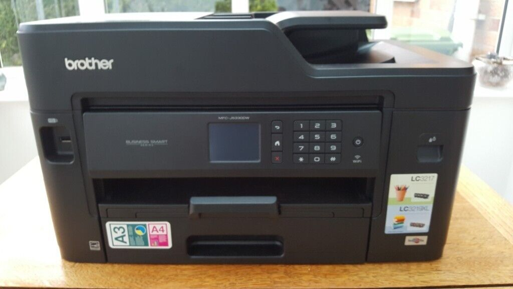 Brother J5330 small business printer/scanner/fax machine  As new with  additional ink cartidges  | in North Ferriby, East Yorkshire | Gumtree
