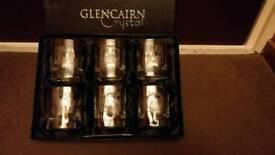 Glencairn Crystal whiskey glasses.