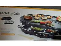 Electric raclette grill brand new in box