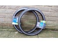 Push bike tyres