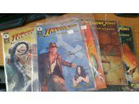Collection of Indiana Jones comics Dark Horse