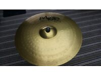 Paiste 101 Cymbal set: 14' Hi-hats, 16' Crash, 20' Ride