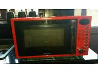 Ambiano Red Retro 700w Microwave - Reduced, Bargain !
