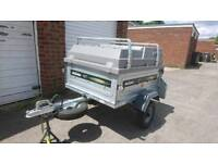 Erde 122 Trailer with lockable hard top