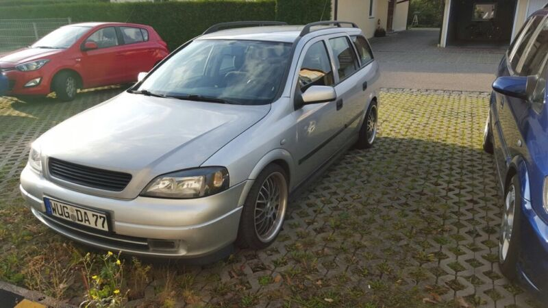 opel astra g caravan in bayern muhr am see opel astra. Black Bedroom Furniture Sets. Home Design Ideas