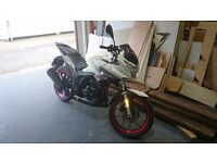 Lexmoto ZSX-F 125 virtually new, only 900 miles on the clock