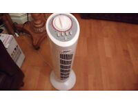 Fan Standing Slimline Rotating Standing Fan Circular Tower
