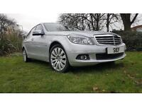 MERCEDES-BENZ C CLASS C220 CDI BlueEFFICIENCY Elegance 4dr (silver) 2010