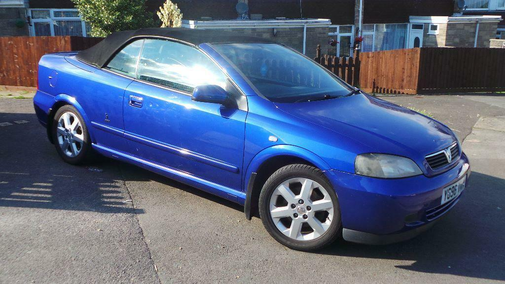 2001 Vauxhall Astra Coupe Convertible Bertone Low Miles At Only