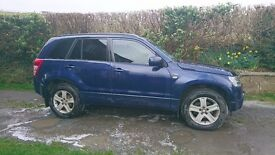 Suzuki Grand Vitara 1.9 Car Truck Diesel Four wheel drive blue 2006