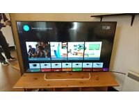 "Sony 49"" KD49X8309 Ultra HD 4K Android TV, Freeview HD, Youview & Built-In Wi-Fi £395"