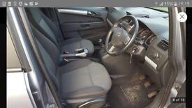 Vauxhall Zafira 57 plate .