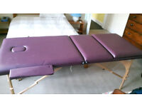 Healthline portable massage table