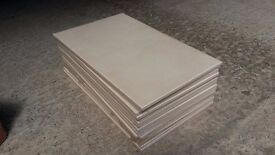 GRESPANIA CERAMICA BAVARIA BEIGE WALL TILES - plain (x 15) - (can collect EH44 or DG7)