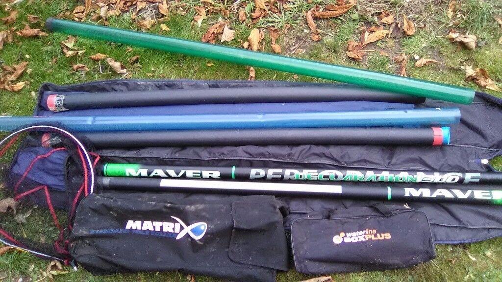 Maver 14 meter carbon pole